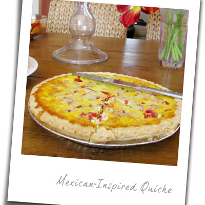Mexican-Inspired Brunch Quiche