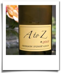 Dry white wine: pinot gris