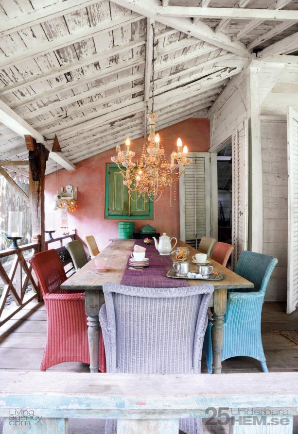 Bali villa - veranda