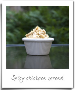 Super Easy Chickpea Spread