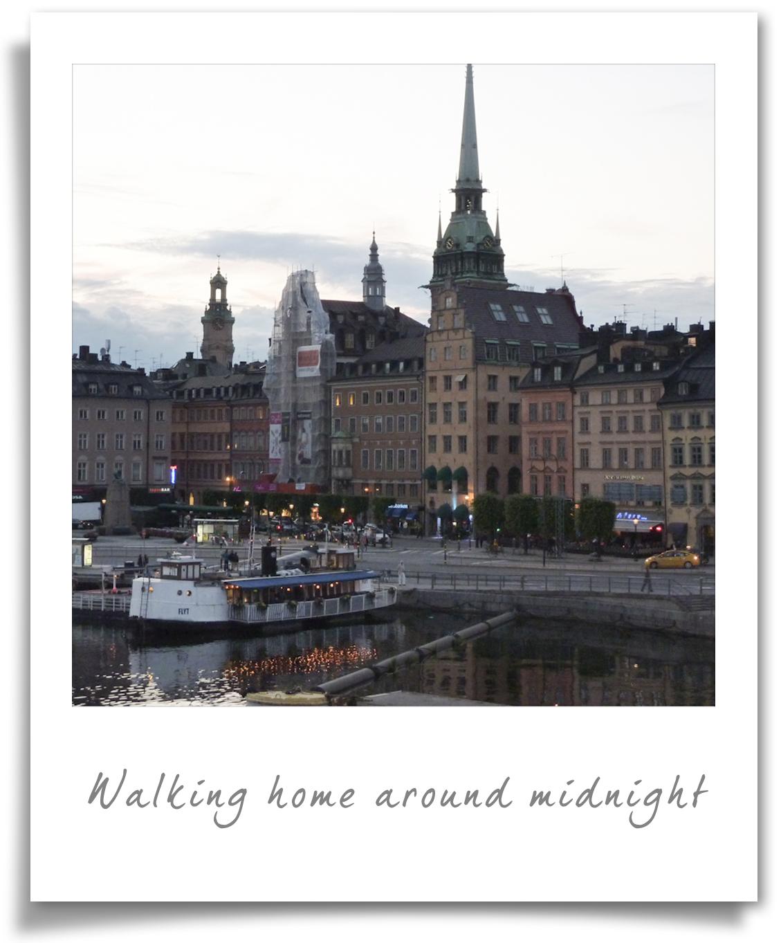 Stockholm - midnight