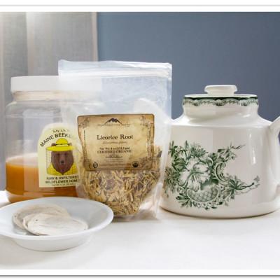 Licorice Honey Iced Tea