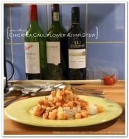 Chickpea-ajvar-stew