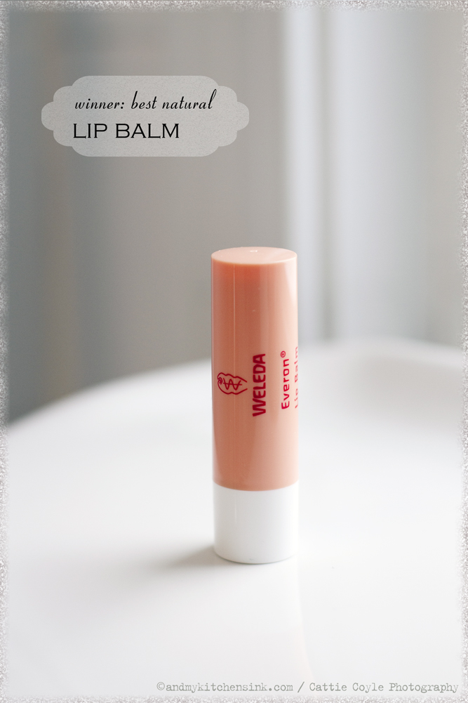 Natural skin care products - lip balm