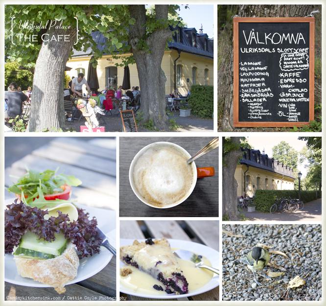 Stockholm travel Ulriksdal Palace cafe