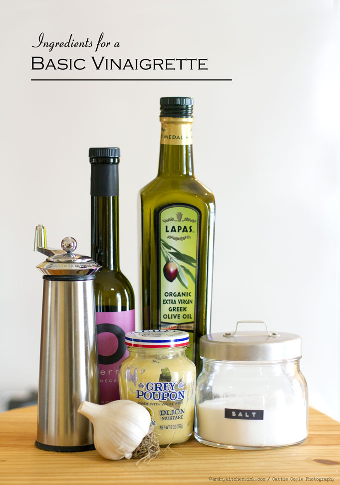 Ingredients-for-basic-vinaigrette recipe