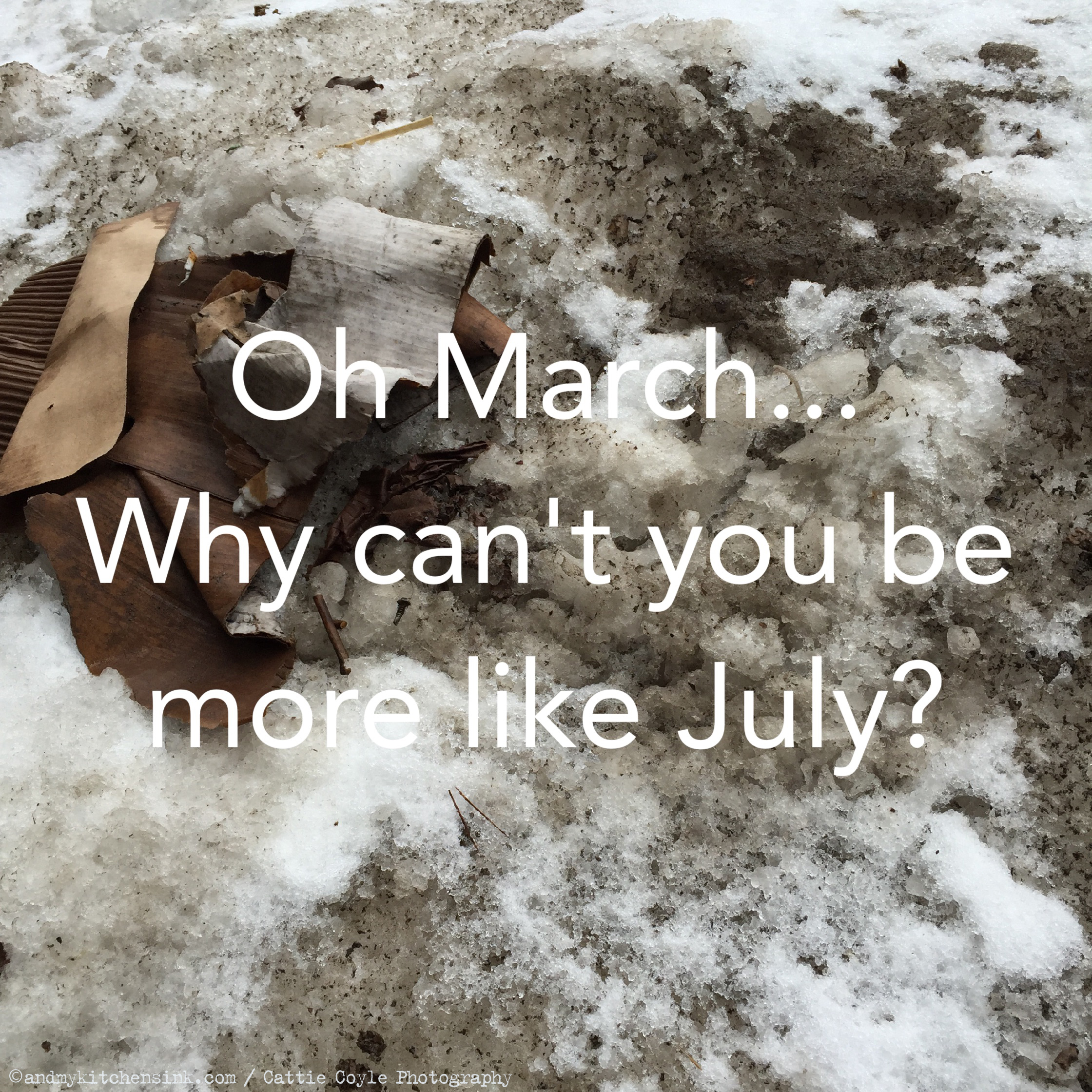Oh March