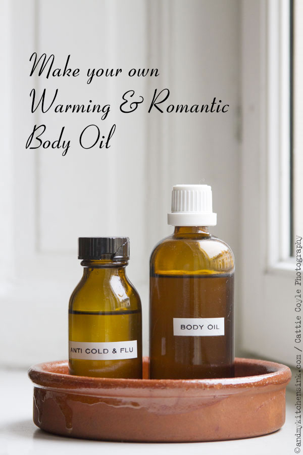 Homemade Body Oil
