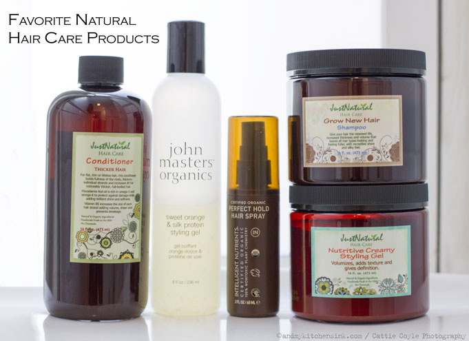 Natural Hair Styling Product Recipes