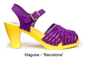 Maguba Barcelona clogs