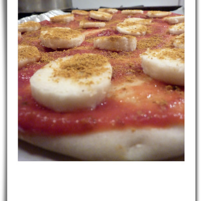 Banana Curry Pizza – A Swedish Favorite