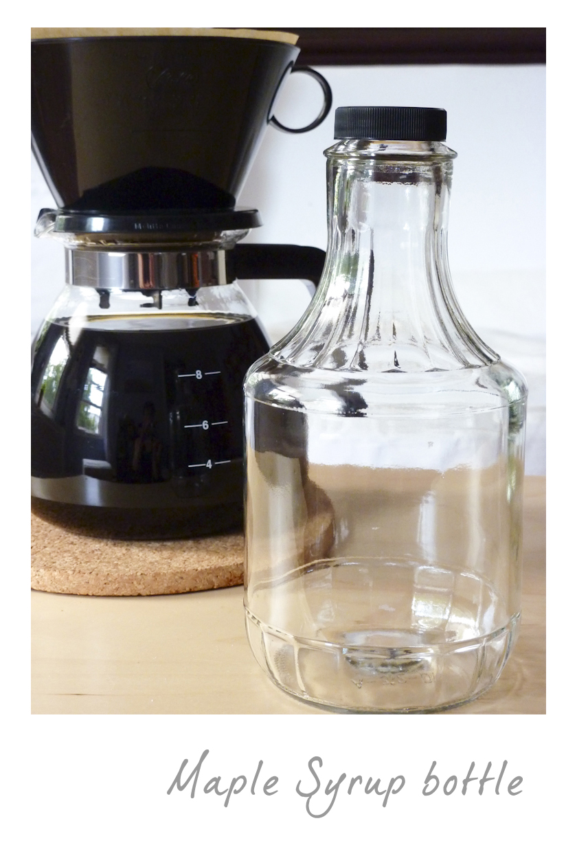Brewing iced coffee