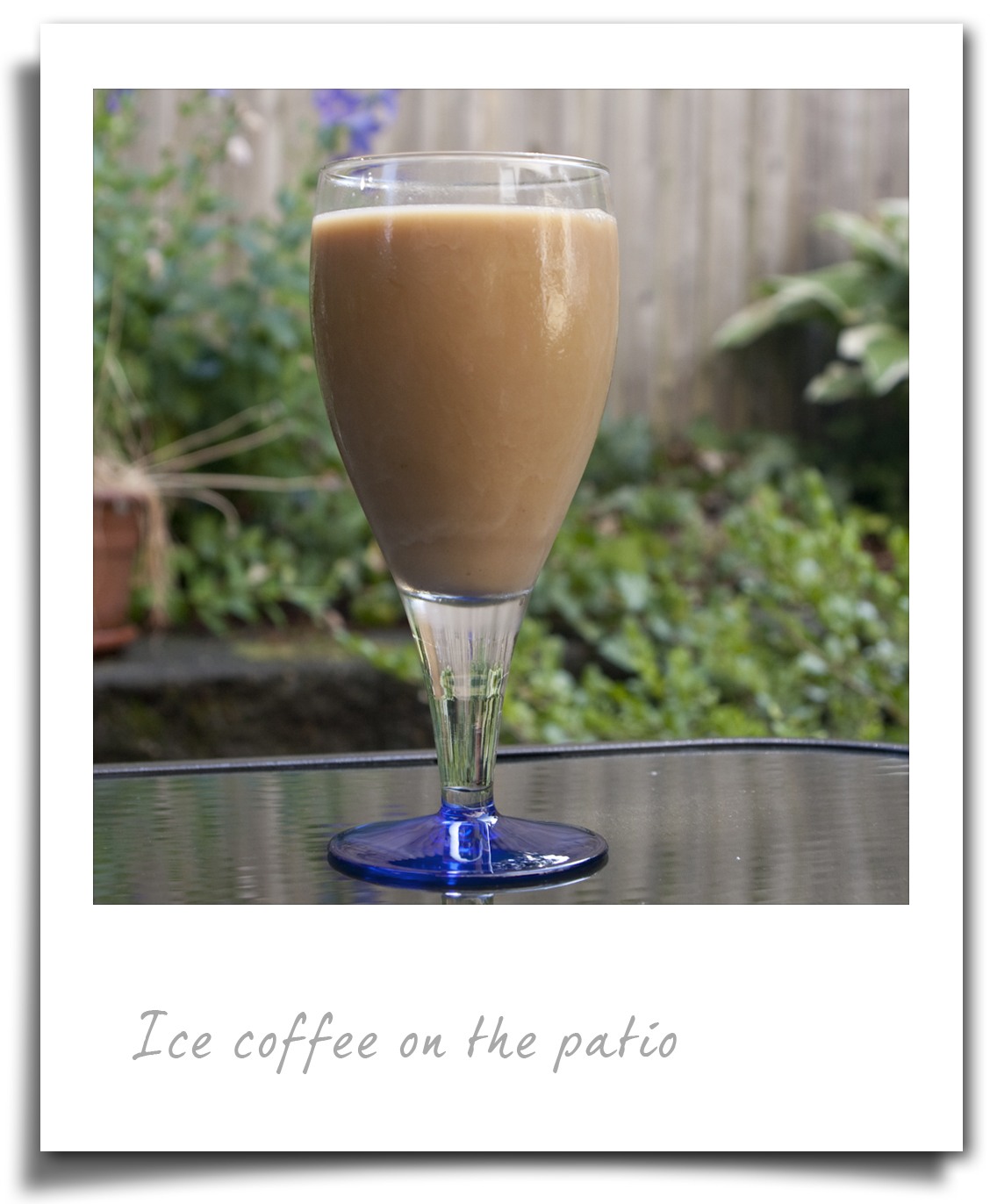 Homemade Iced Coffee Using Espresso Coffee Beans