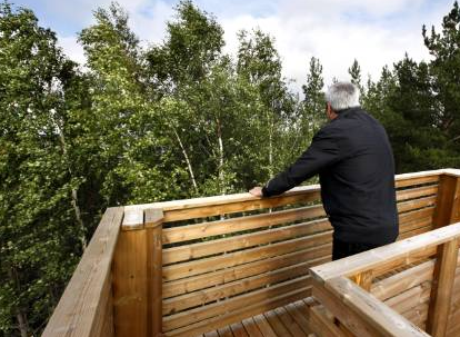 Funny news from Sweden - lookout tower without a view