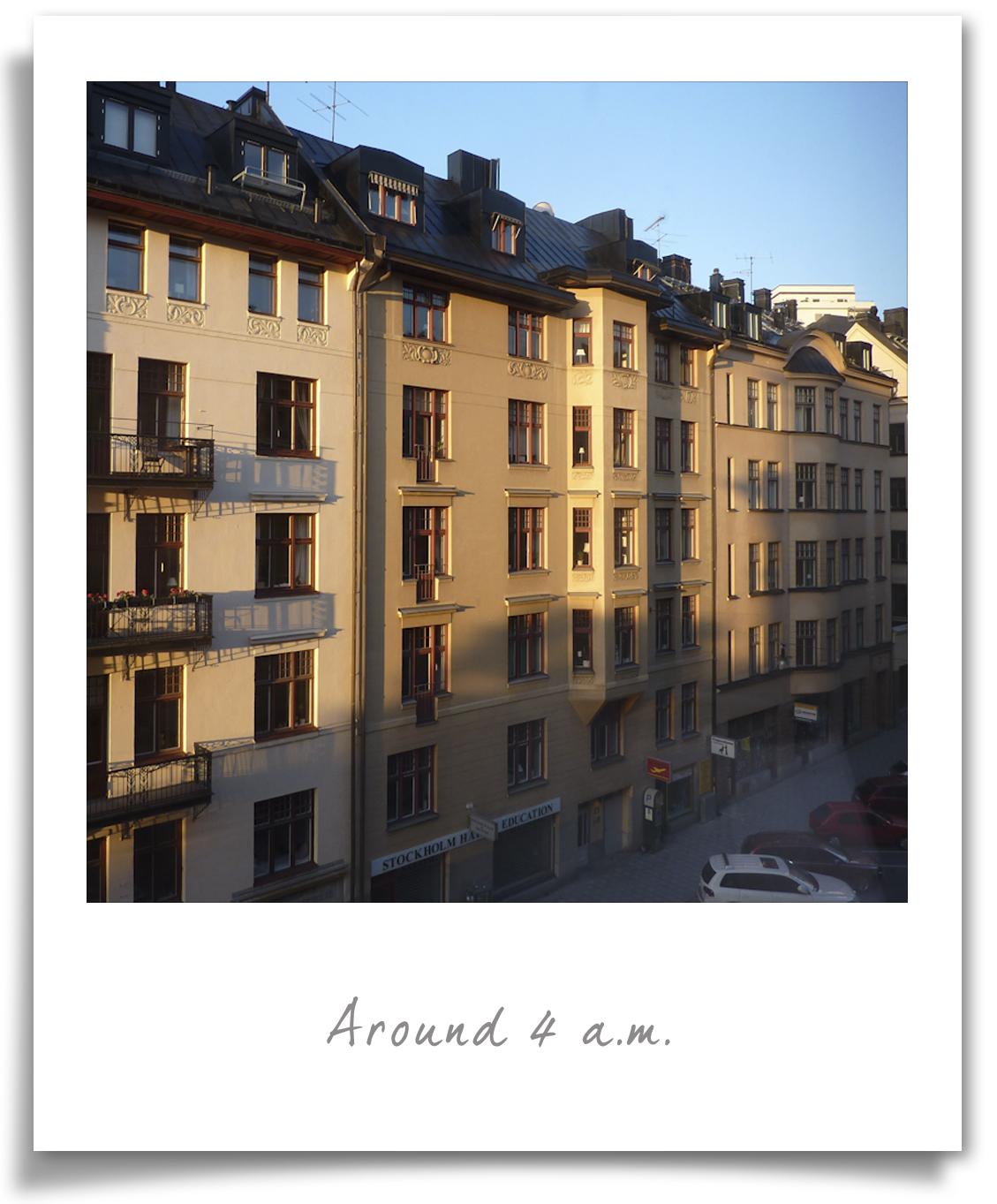 Stockholm - 4 am