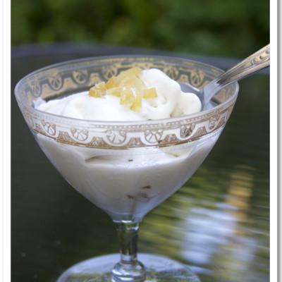 Ginger Coconut Milk Ice Cream