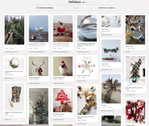 Favorite Pinterest Board Of The Week: Holidays