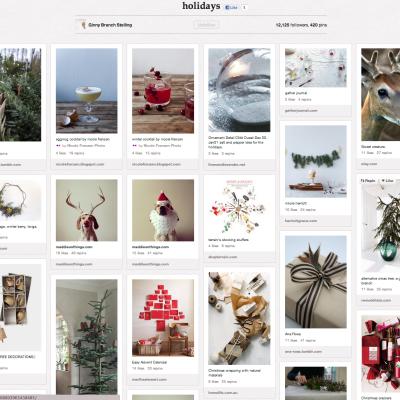 Favorite Pinterest Board Of The Week: Holidays