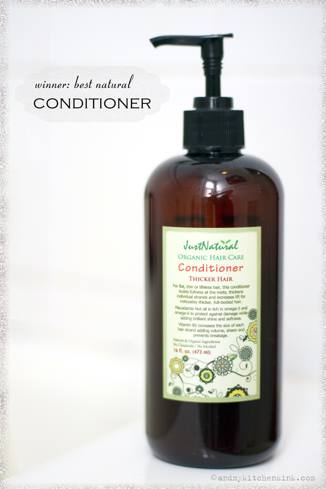 Natural hair care products - conditioner