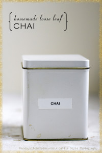 Chai Tea: How To Make Your Own Health Promoting Loose Leaf Blend
