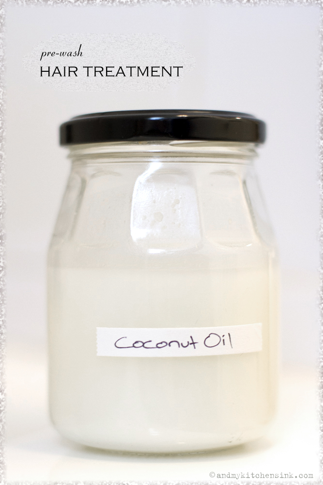 Natural hair care products - Coconut-oil