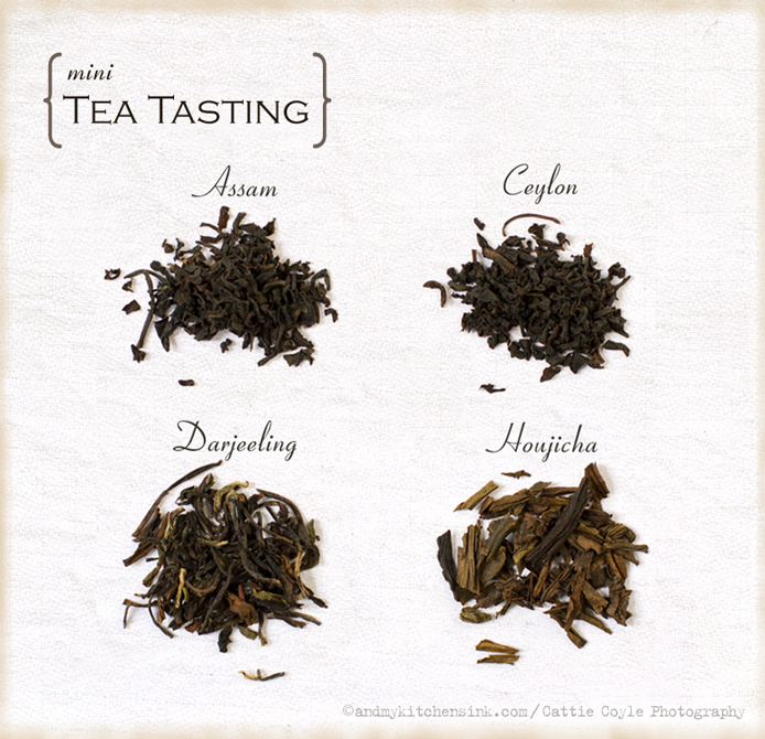 Mini tea tasting, tea