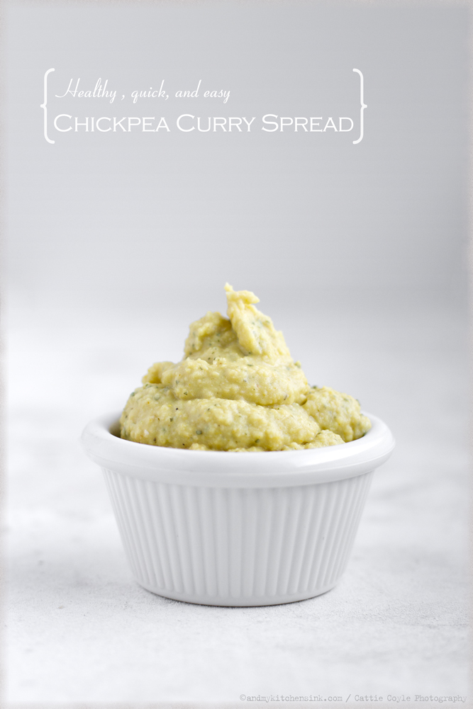 Chickpea curry spread