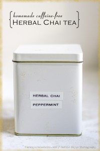 Caffeine-Free Herbal Chai Tea