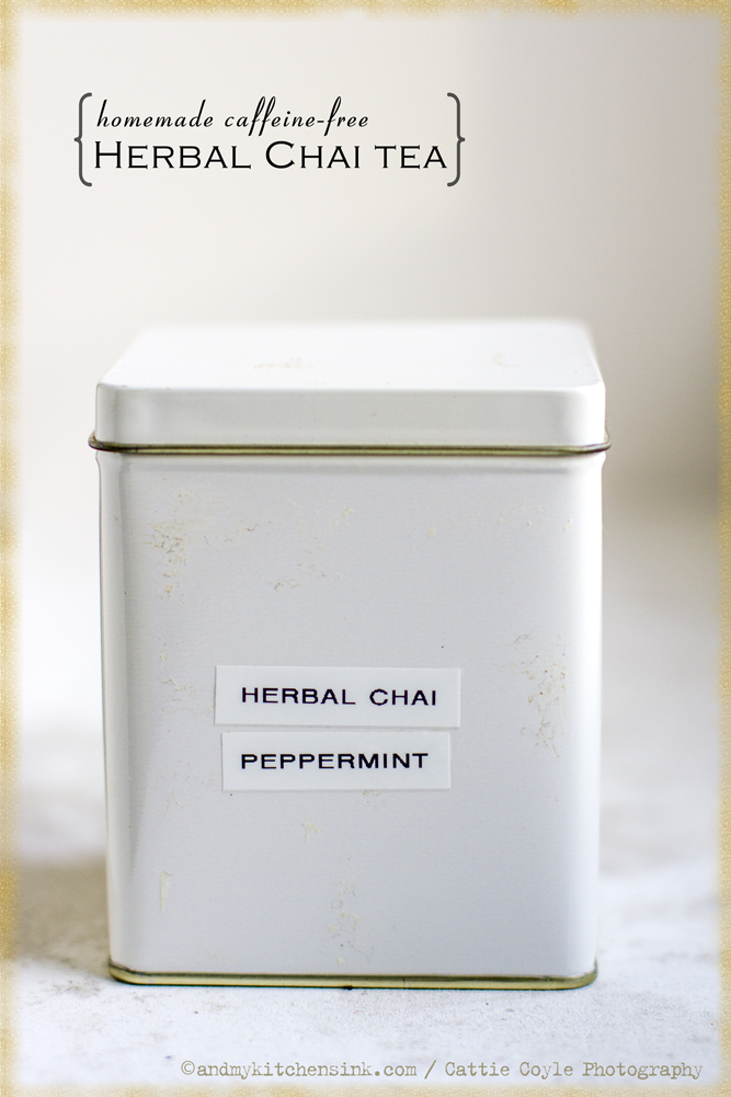 Herbal chai tea